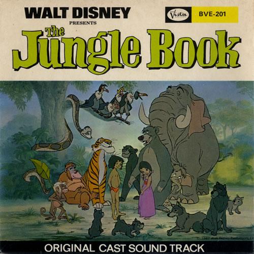 Walt Disney The Jungle Book Uk 7 Vinyl Single 7 Inch Record 548569