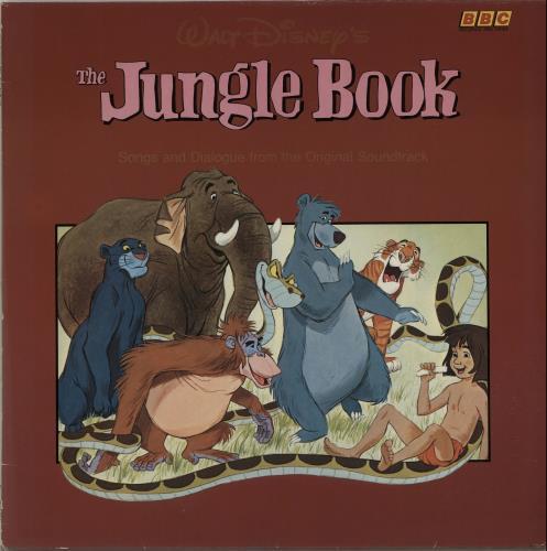 Walt Disney The Jungle Book Uk Vinyl Lp Album Lp Record 552981