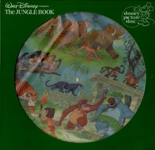 Walt Disney The Jungle Book Us Picture Disc Lp Vinyl Picture Disc