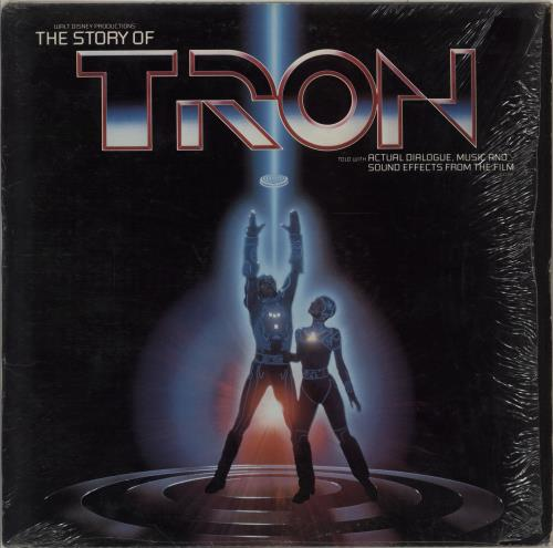 Walt Disney The Story Of Tron vinyl LP album (LP record) US W-DLPTH692642
