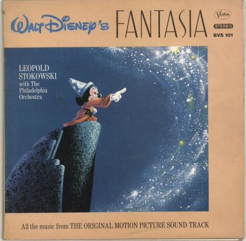 Walt Disney Walt Disney's Fantasia - 1st 2-LP vinyl record set (Double Album) UK W-D2LWA691000