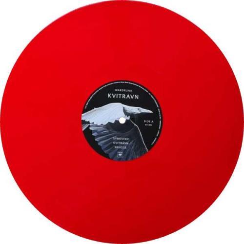 Wardruna Kvitravn - Red Vinyl - Sealed 2-LP vinyl record set (Double Album) UK 2582LKV761879