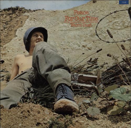 Warm Dust Peace In Our Time vinyl LP album (LP record) UK WRMLPPE323514