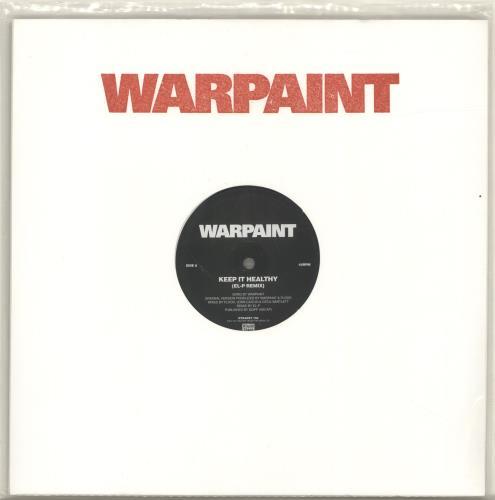 "Warpaint Keep It Healthy 12"" vinyl single (12 inch record / Maxi-single) UK WDR12KE690434"