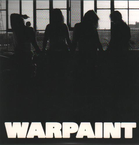 "Warpaint New Song 7"" vinyl single (7 inch record) UK WDR07NE682860"