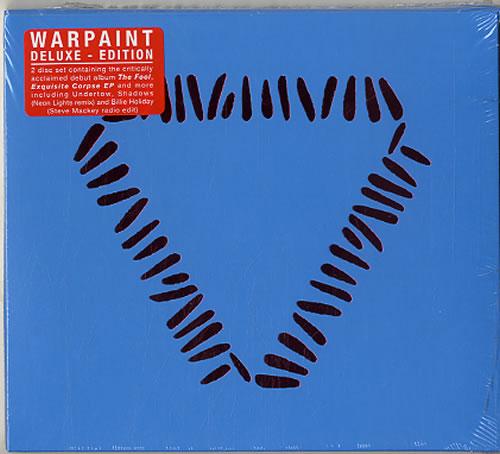 Warpaint The Fool 2 CD album set (Double CD) UK WDR2CTH629266