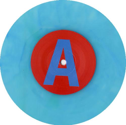 "Warpaint Undertow / Warpaint - RSD11 - Blue Vinyl 7"" vinyl single (7 inch record) UK WDR07UN619572"