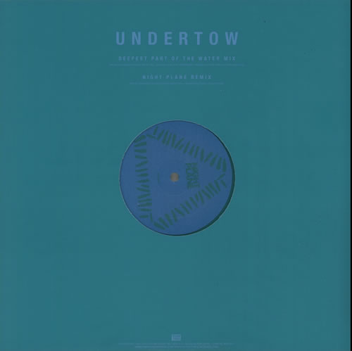 "Warpaint Undertow - Turquoise Vinyl 12"" vinyl single (12 inch record / Maxi-single) UK WDR12UN631685"