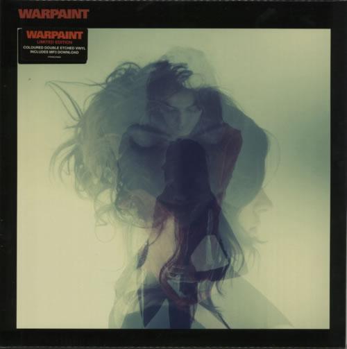 Warpaint Warpaint - Red Etched Vinyl + Sealed 2-LP vinyl record set (Double Album) UK WDR2LWA618907