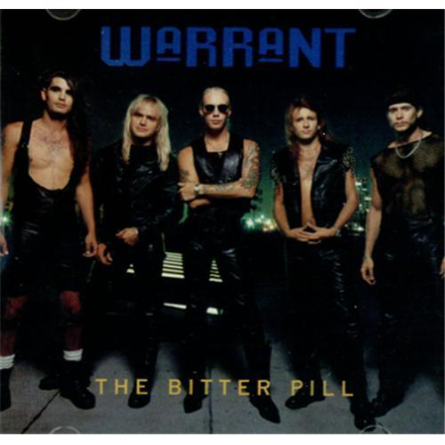 """Warrant The Bitter Pill CD single (CD5 / 5"""") US WNTC5TH425035"""