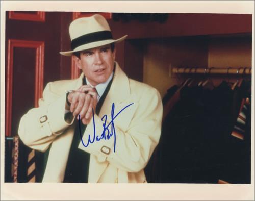 Warren Beatty Autographed Publicity Phogograph photograph US WF2PHAU436336
