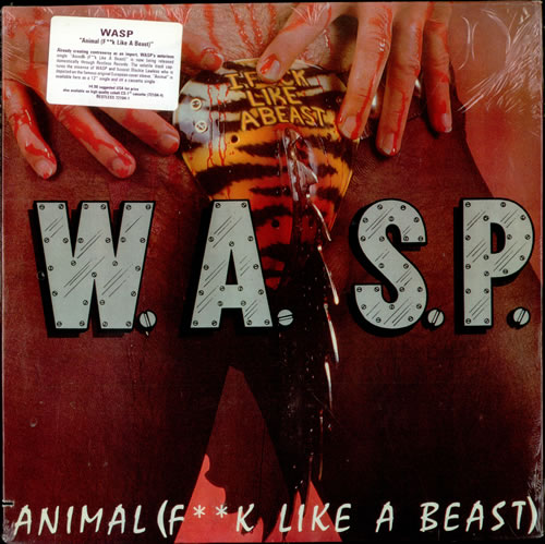 "WASP Animal F**k Like A Beast 12"" vinyl single (12 inch record / Maxi-single) US WAS12AN01283"