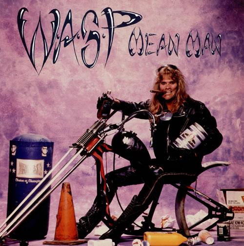 "WASP Mean Man 12"" vinyl single (12 inch record / Maxi-single) UK WAS12ME465719"