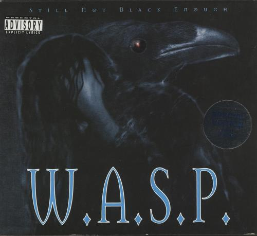 WASP Still Not Black Enough CD album (CDLP) UK WASCDST727681