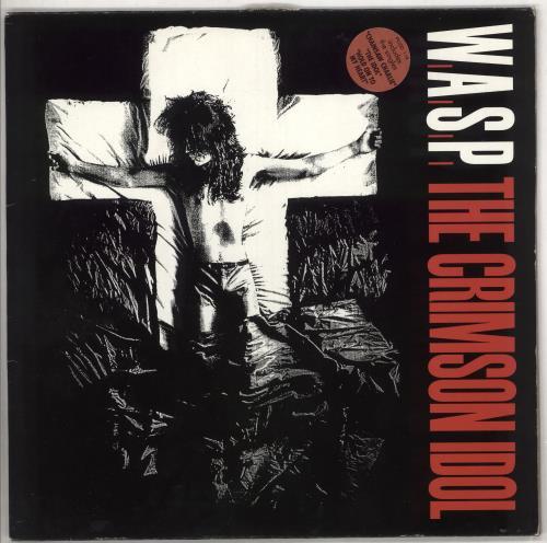 WASP The Crimson Idol - Hype Stickered Sleeve vinyl LP album (LP record) UK WASLPTH708241