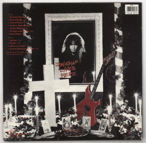 WASP The Crimson Idol - Hype Stickered vinyl LP album (LP record) UK WASLPTH708241