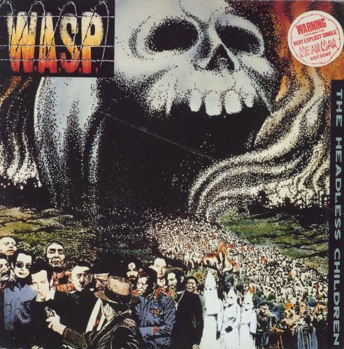 WASP The Headless Children - Hype Stickered vinyl LP album (LP record) UK WASLPTH767156
