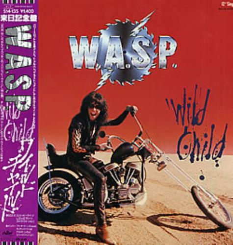 "WASP Wild Child 12"" vinyl single (12 inch record / Maxi-single) Japanese WAS12WI272339"