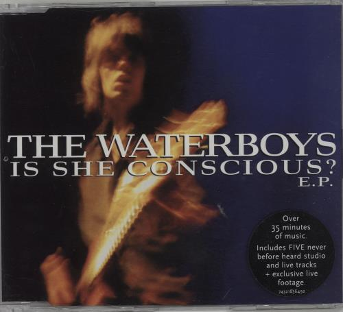 """Waterboys Is She Conscious? EP CD single (CD5 / 5"""") European WATC5IS177778"""