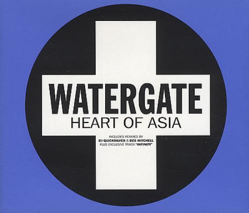 "Watergate Heart Of Asia CD single (CD5 / 5"") UK WGAC5HE393588"