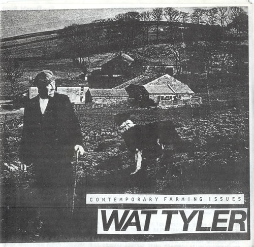 """Wat Tyler Contemporary Farming Issues EP 7"""" vinyl single (7 inch record) UK WF907CO601967"""