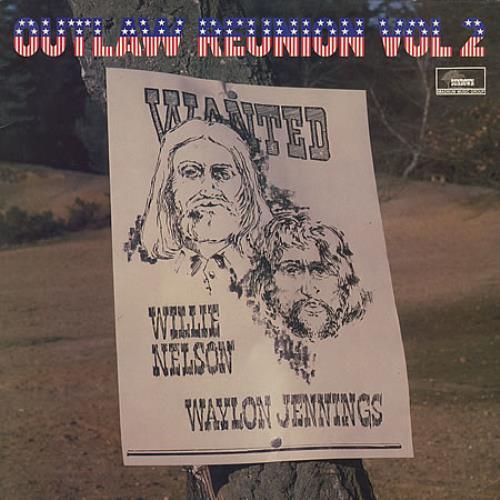 Waylon Jennings And Willie Nelson Outlaw Reunion Vol 2 vinyl LP album (LP record) UK W&WLPOU304403