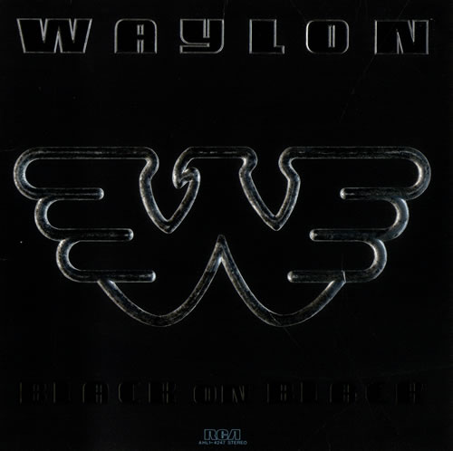 Waylon Jennings Black On Black Us Vinyl Lp Album Lp
