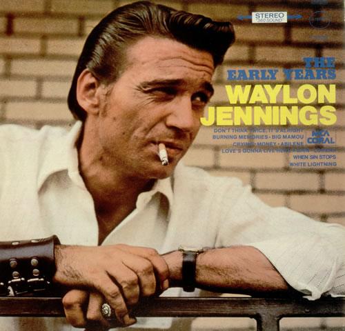 Waylon Jennings The Early Years Uk Vinyl Lp Album Lp