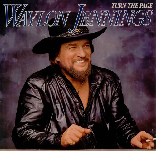 Waylon Jennings Turn The Page Uk Vinyl Lp Album Lp Record