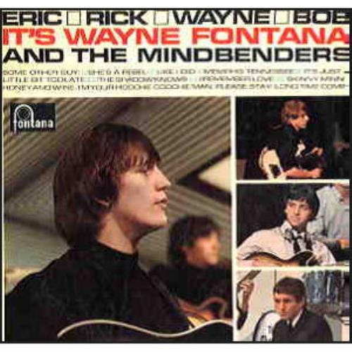 Wayne Fontana & The Mindbenders Eric, Rick, Wayne & Bob SHM CD Japanese WYFHMER460150