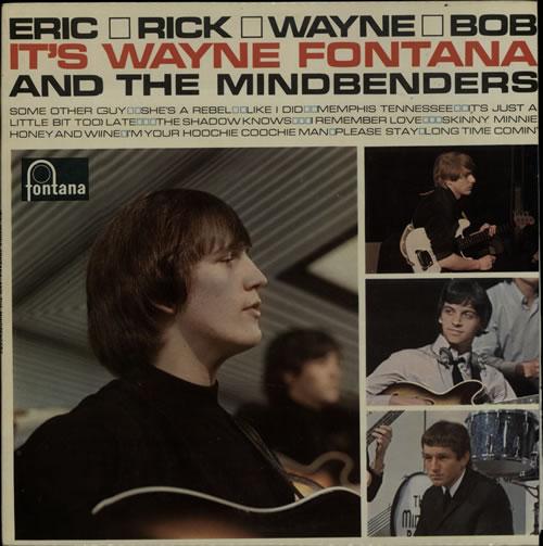 Wayne Fontana & The Mindbenders Eric, Rick, Wayne & Bob vinyl LP album (LP record) UK WYFLPER638393