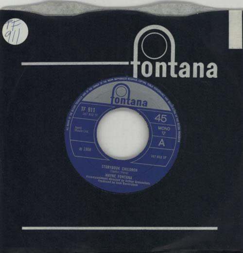 "Wayne Fontana & The Mindbenders Storybook Children 7"" vinyl single (7 inch record) UK WYF07ST605797"
