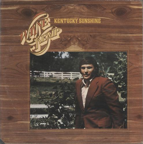 Wayne Kemp Kentucky Sunshine vinyl LP album (LP record) US ZY-LPKE721642