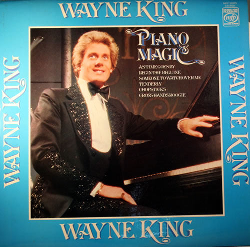 Wayne King Piano Magic vinyl LP album (LP record) UK WFYLPPI563822