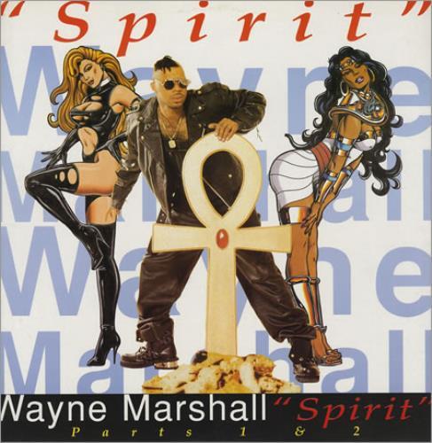 """Wayne Marshall Spirit 12"""" vinyl single (12 inch record / Maxi-single) UK WYL12SP196489"""