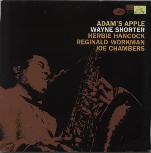 Wayne Shorter Adam's Apple vinyl LP album (LP record) US WYSLPAD673075