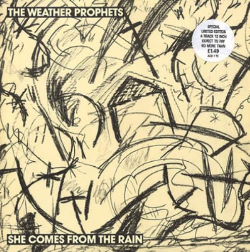 """Weather Prophets She Comes From The Rain 12"""" vinyl single (12 inch record / Maxi-single) UK WPR12SH106149"""