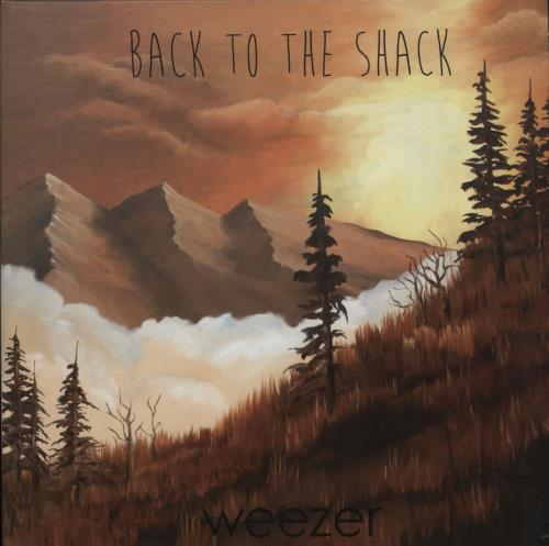 """Weezer Back To The Shack 7"""" vinyl single (7 inch record) UK WEE07BA618012"""