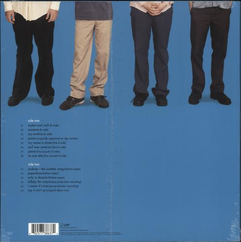 Weezer Dusty Gems & Raw Nuggets - RSD19 - Blue Vinyl - Sealed vinyl LP album (LP record) UK WEELPDU718528