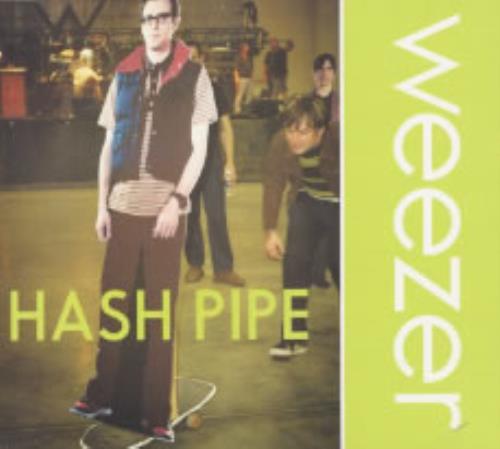 """Weezer Hash Pipe CD single (CD5 / 5"""") UK WEEC5HA190381"""
