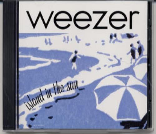 """Weezer Island In The Sun CD single (CD5 / 5"""") US WEEC5IS191336"""