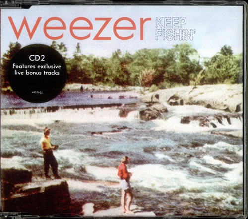 Weezer Keep Fishin Uk 2 Cd Single Set Double Cd Single