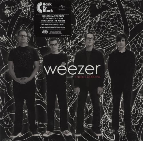 Weezer Make Believe - 180gram Vinyl + Sealed vinyl LP album (LP record) US WEELPMA754895