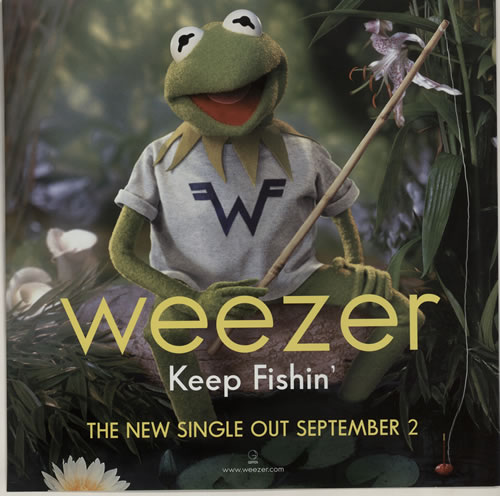 Weezer Maladroit / Keep Fishin' - Displays display UK WEEDIMA632080