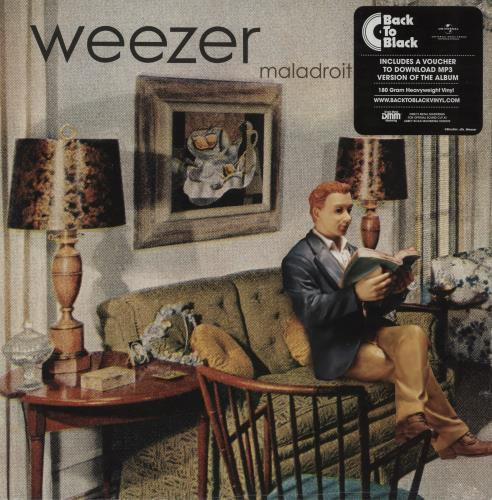 Weezer Maladroit - 180gram Vinyl + Sealed vinyl LP album (LP record) UK WEELPMA754904