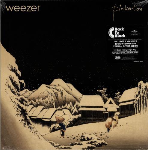 Weezer Pinkerton - 180gram Vinyl + Sealed vinyl LP album (LP record) UK WEELPPI690513