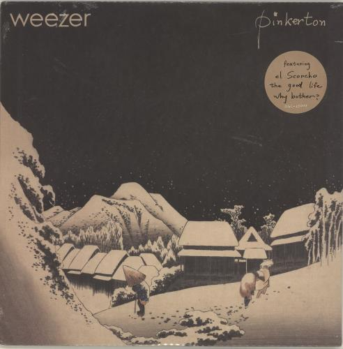 Weezer Pinkerton - Sealed vinyl LP album (LP record) US WEELPPI695957
