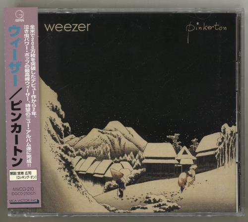 Weezer Pinkerton CD album (CDLP) Japanese WEECDPI706846