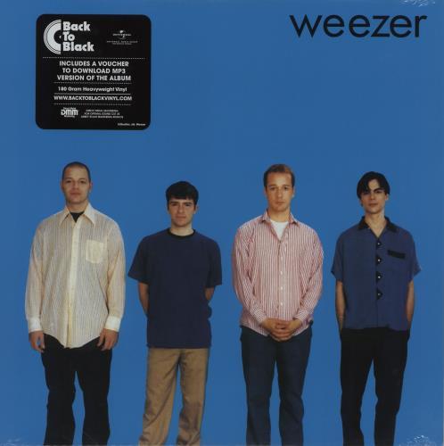 Weezer Weezer [The Blue Album] - 180gram Vinyl + Sealed vinyl LP album (LP record) UK WEELPWE754896