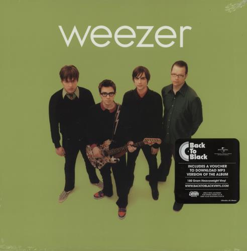 Weezer Weezer [The Green Album] - 180gram Vinyl + Sealed vinyl LP album (LP record) UK WEELPWE754900